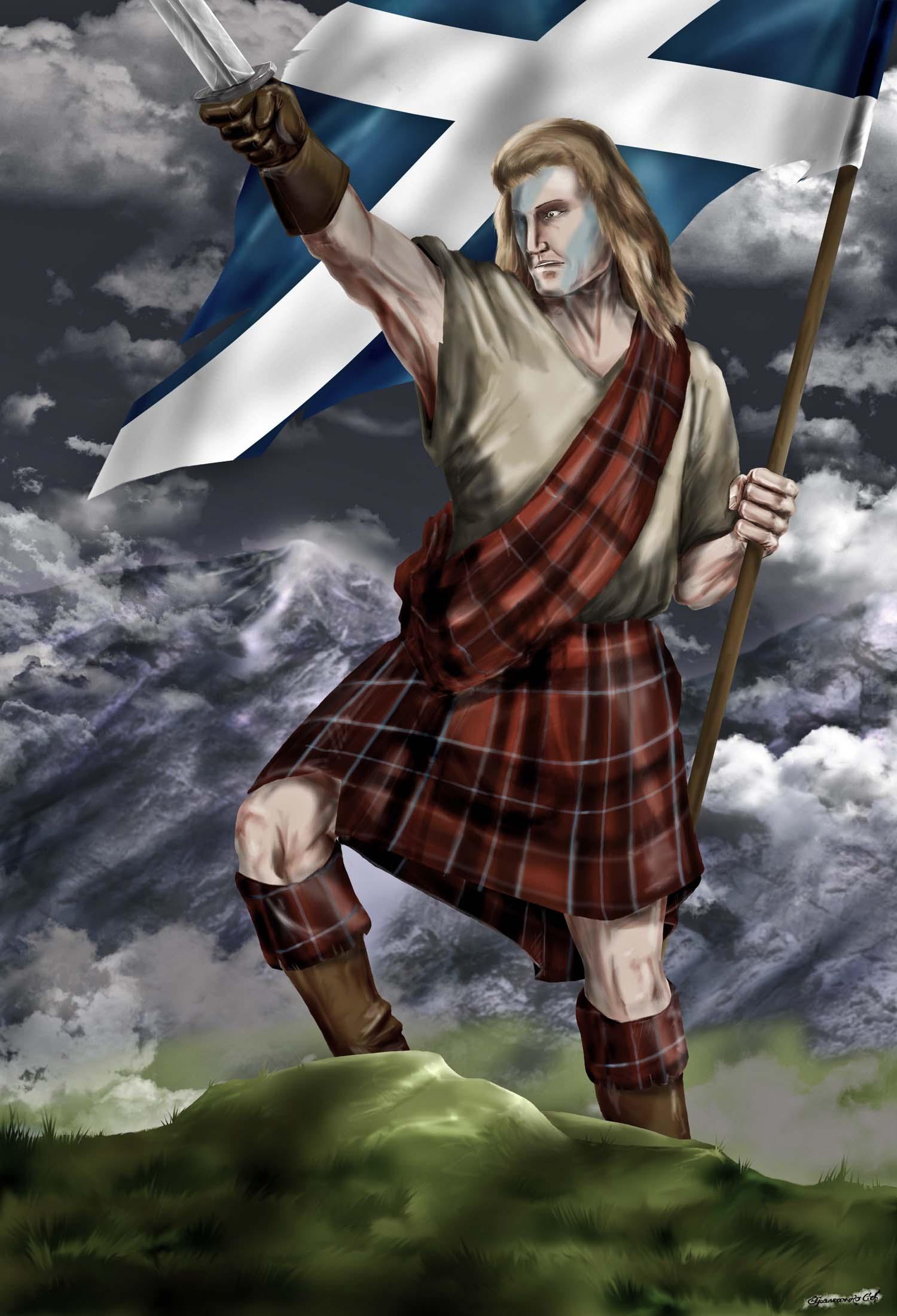 середины картинки шотландцев художниками шотландии середине мая побывала